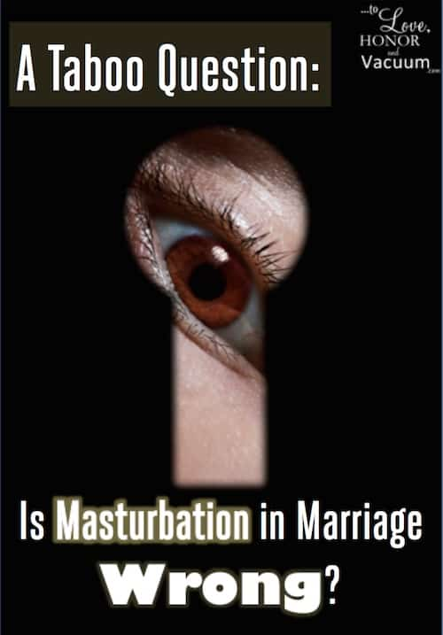 Masturbation in Marriage: Is it always wrong? Here are reasons why masturbation (at least in secret) can seriously harm your relationship.
