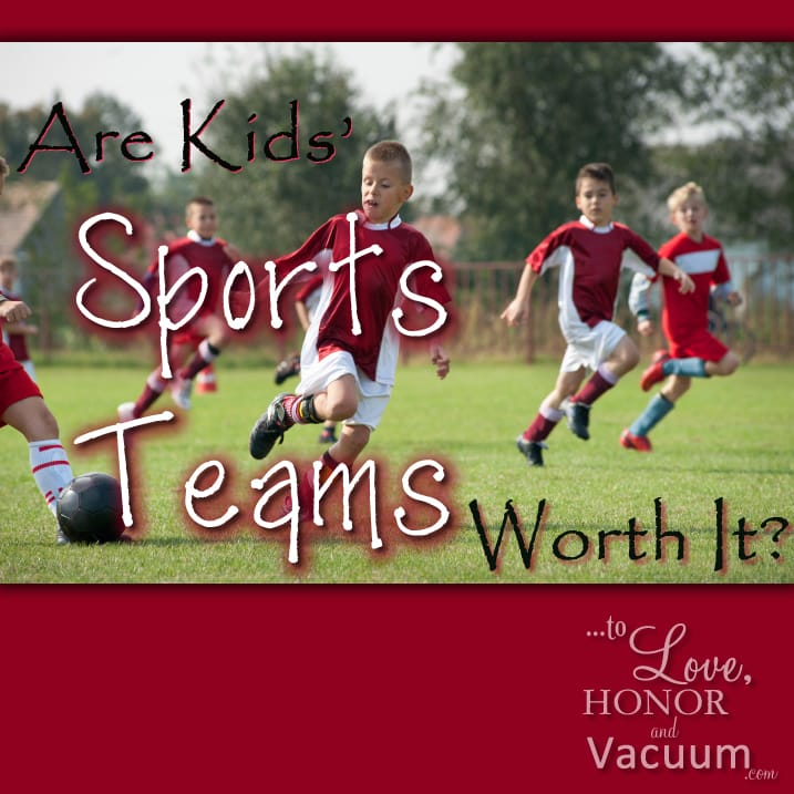 are kids sports worth it