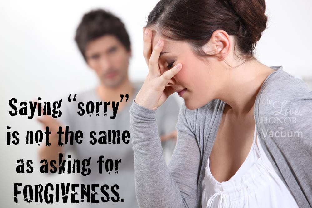 What Forgiveness Is: And what it isn't!