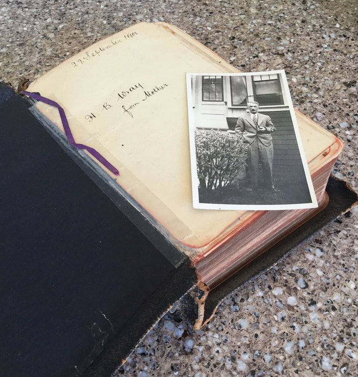 A spiritual heritage: a Bible given to my great-grandfather