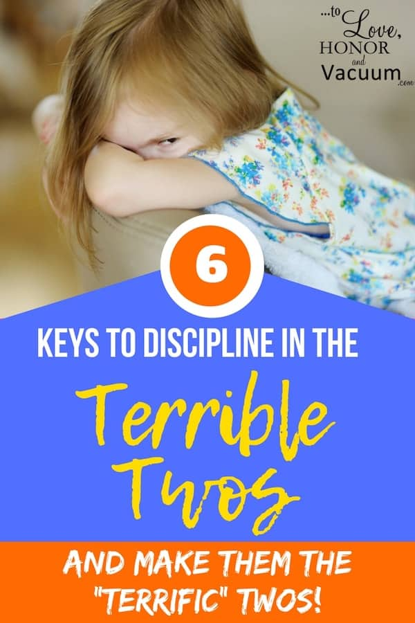 Discipline in the Terrible Twos: They can be the Terrific Twos! Thoughts on Disciplining Toddlers