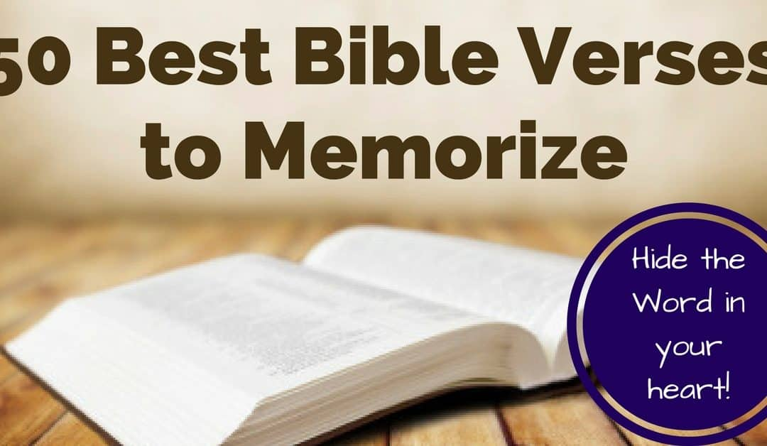 Most Important Bible Verses To Memorize