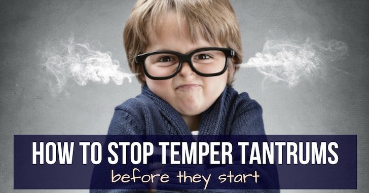 FB how to stop temper tantrums - Reader question:  My Wife Sleeps with the Toddler!