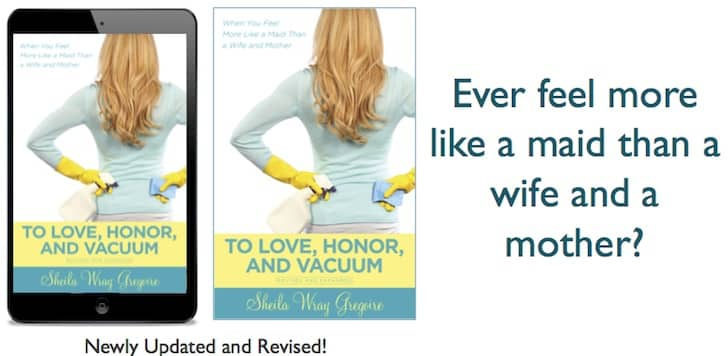 TLHV Ad 2 kinds - Reader question: Do Stay at Home Moms Have To Do All The Housework?