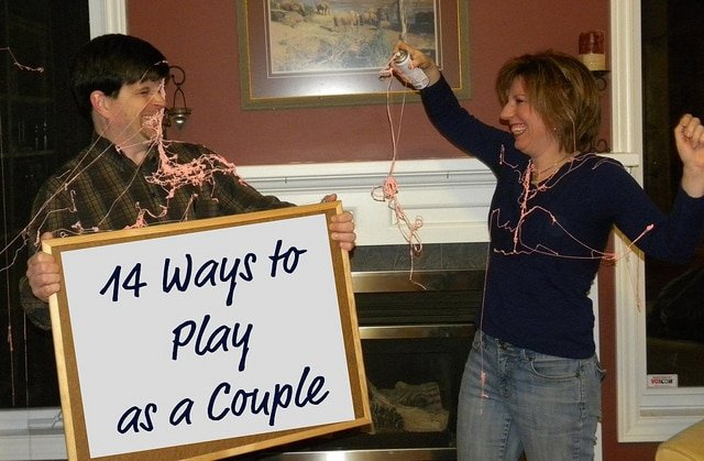 14 Ways to Play with Your Husband--part of the 29 Days to Great