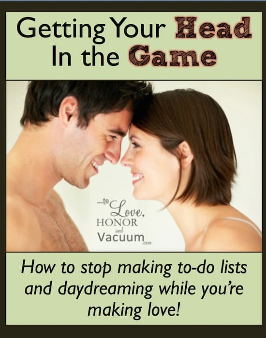 29 Days to Great Sex Day 13: Getting Your Head in the Game