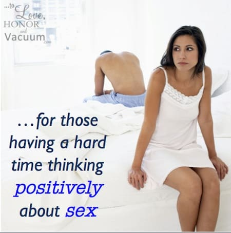 Thinking positively about sex