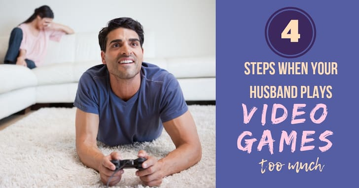 FB Husband Plays too Many Video games - Is Your Husband Spending too Much Time Playing Video Games?