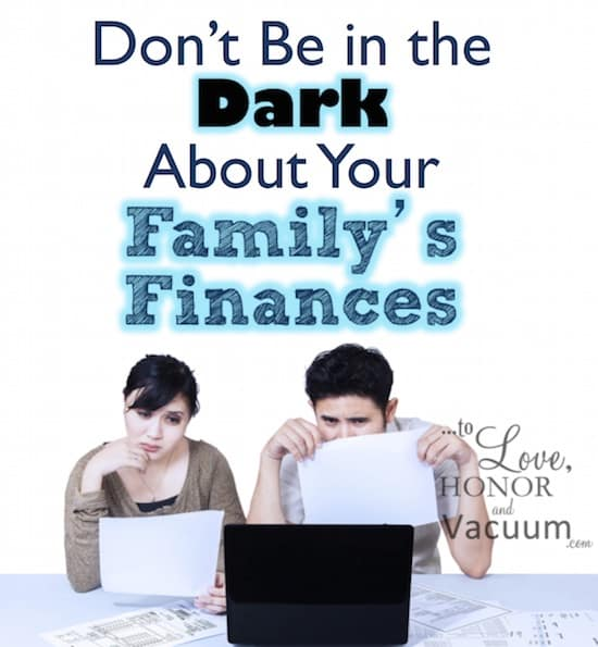 Wifey Wednesday: Don't Be in the Dark About Your Family's Finances
