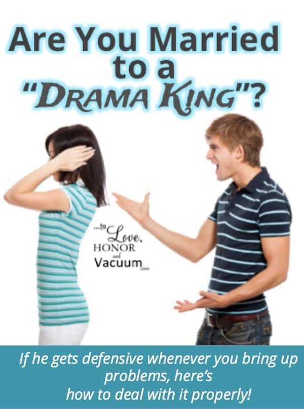 Reader Question of the Week: Drama King Husband