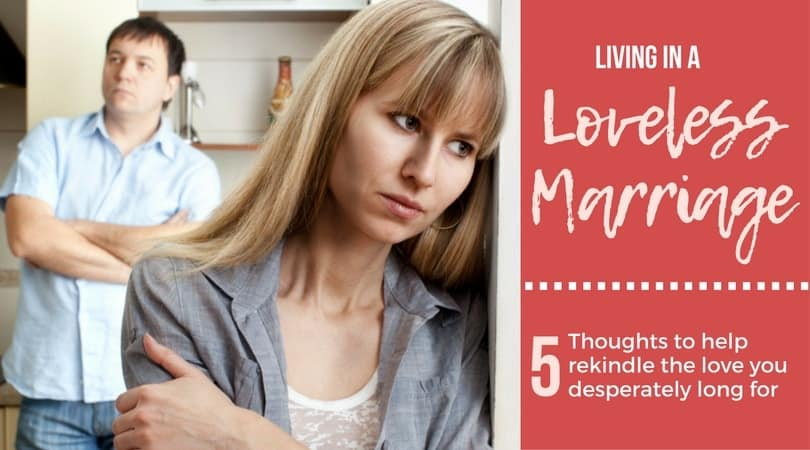 FB Loveless Marriage - Resolving Conflict in Marriage