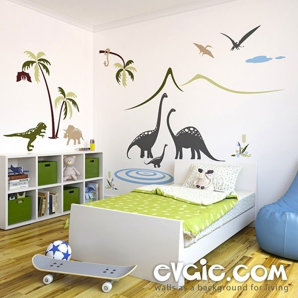 Awesome Dinosaur Wall Decals from Evgie