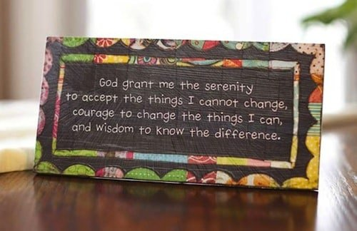 Serenity Prayer - Wifey Wednesday: My Husband Needs to Change!