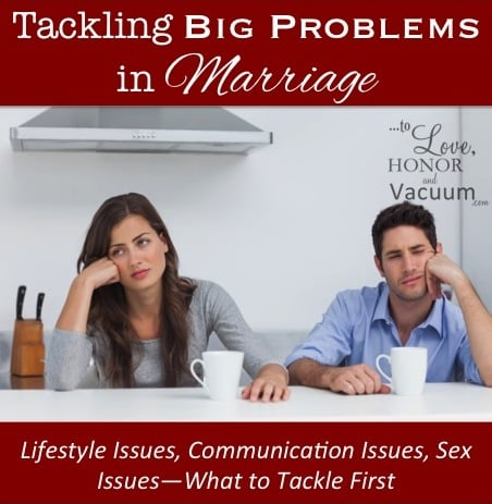Reader Question: How Do I Tackle Huge Marriage Problems?