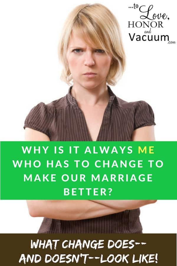 Change in Marriage - Wifey Wednesday: My Husband Needs to Change!