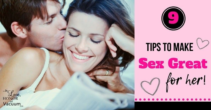 FB 9 tips to make sex great for her - Tell Him What Feels Good!