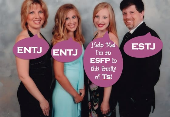Myers Briggs Family--and ENTJ Females