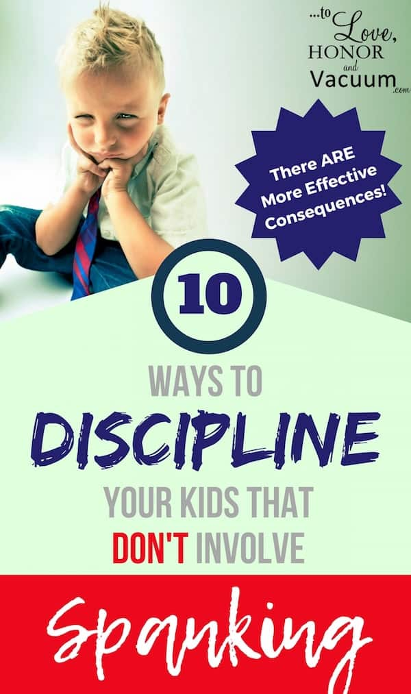 Spanking Alternatives when Disciplining Children: There are so many better ways to discipline kids than spanking--or even than time outs! Effective discipline starts with consequences.