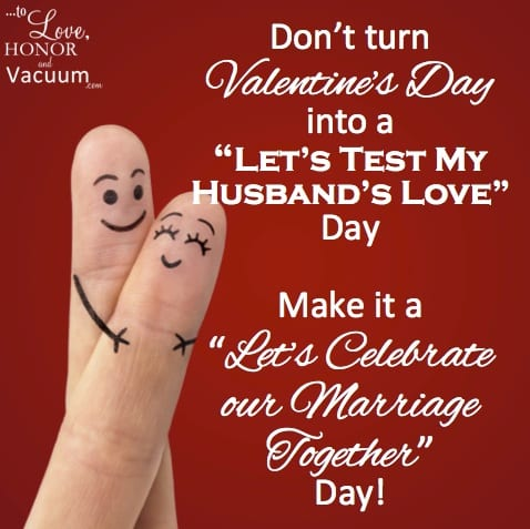 Make Valentine's Day Celebrate Your Marriage Day!