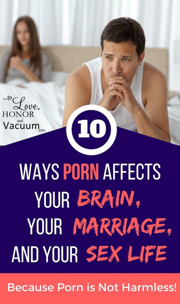 Negative effects of watching pornography