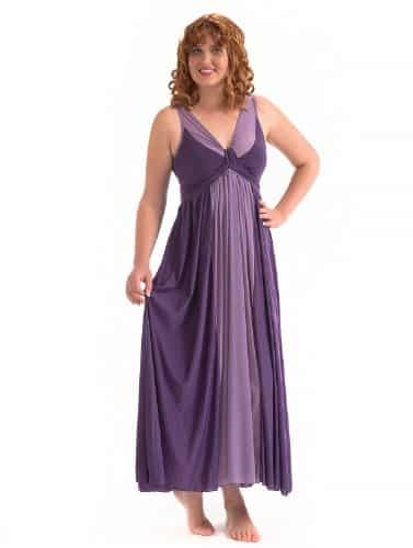 Precious Curves Women's Cascade Full Length Nightgown