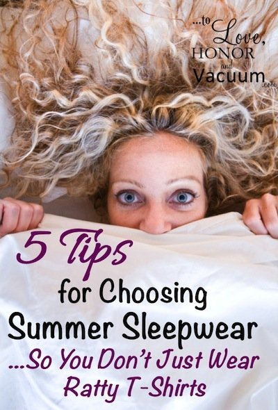 af11721ab1 5 Tips for Choosing Attractive Summer Sleepwear for Moms