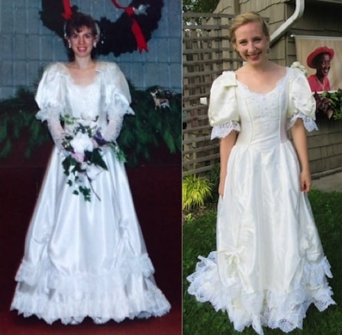 Wedding Dress Cmpare - Here's What I Did with my Wedding Dress