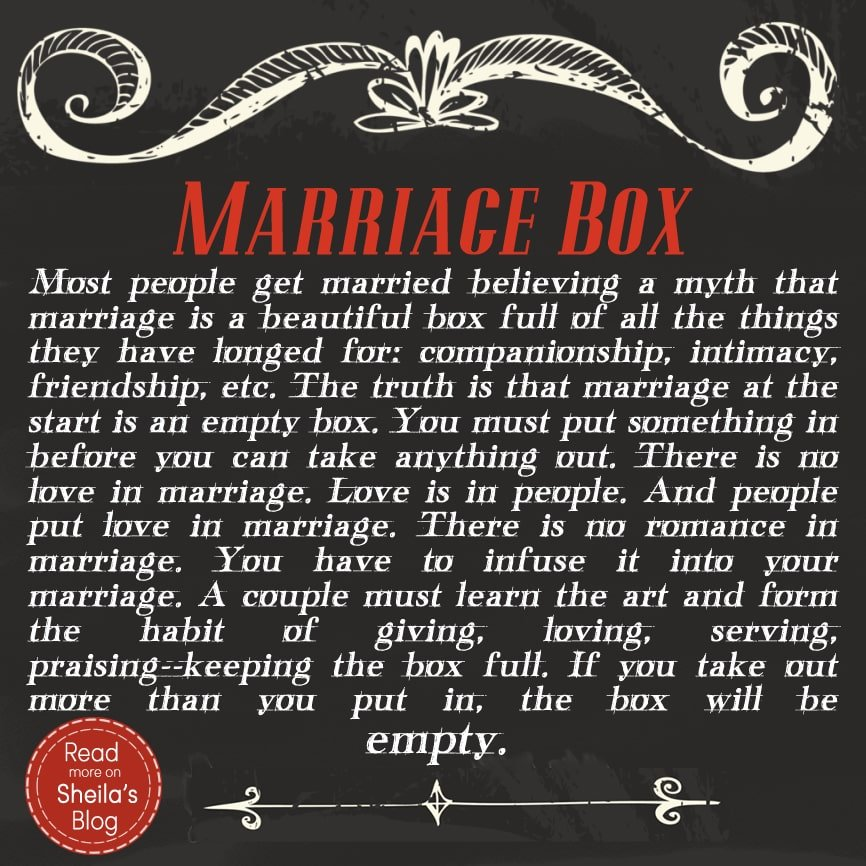 Marriage Box - Marriage Box