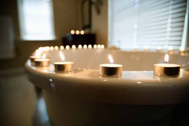Telling your husband what you want in bed--sometimes it's easier to tell him in candlelight!