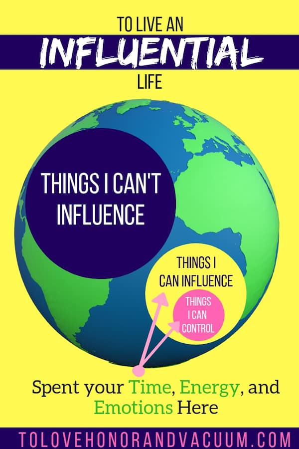 Sphere of Influence Change - Stop Worrying About Stuff You Can't Change