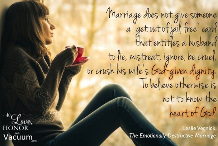 Ten Truths About Emotionally Destructive Marriages | To Love