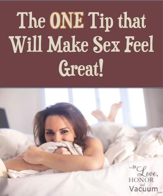 Wifey Wednesday: The ONE Tip That Will Make Sex Feel Great!