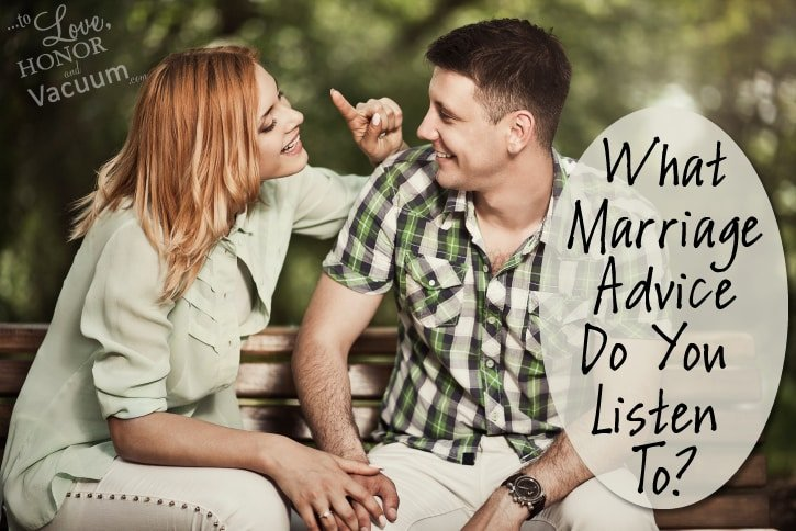 What Marriage Advice Do You Listen To?