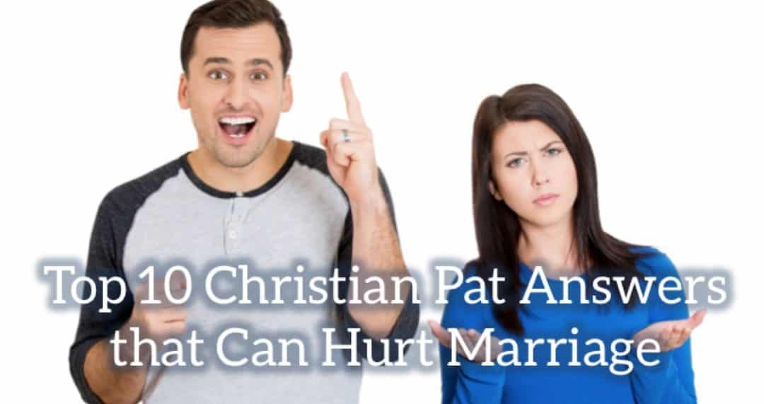 FB Christian Pat Answers - Why One Size Fits All Advice Doesn't Work