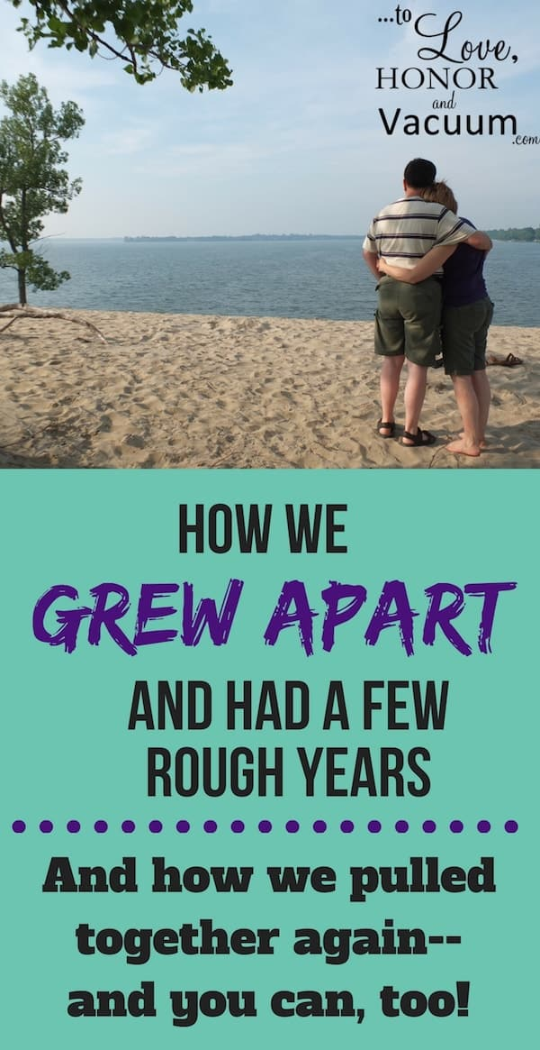 Growing Apart as a Couple--how to pull together when life pulls you apart