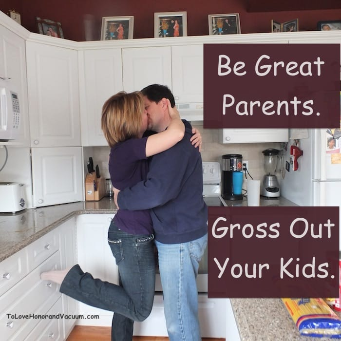 Be Great Parents. Gross Out Your Kids!