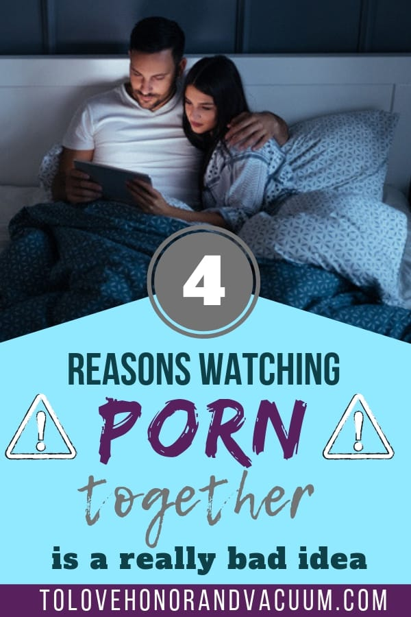 Watching Porn Together is Bad--Watching Porn as a Couple