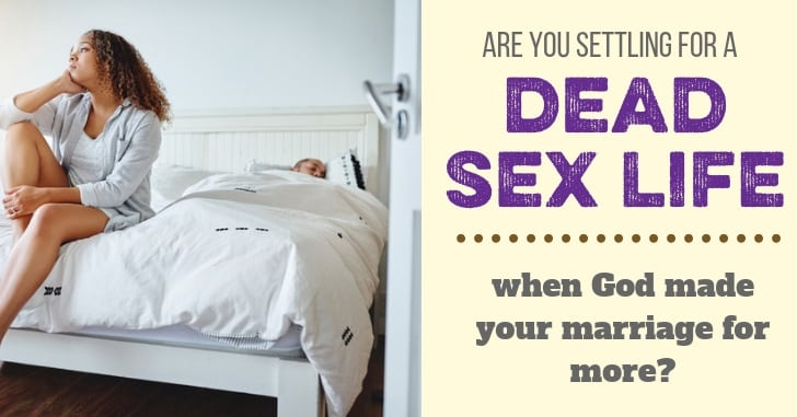 FB Dead Sex Life in Marriage - Does Everything Really Come Down to Sex?