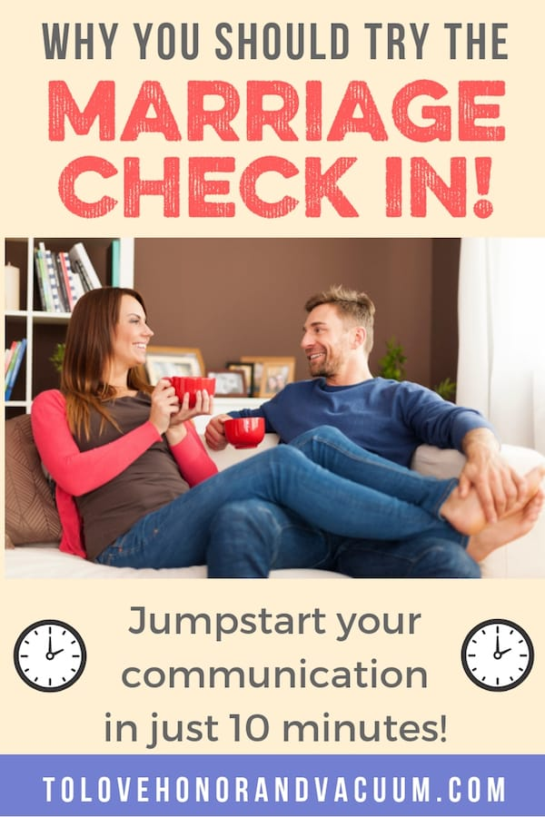Marriage Check In  - One Marriage Habit to Start this New Year