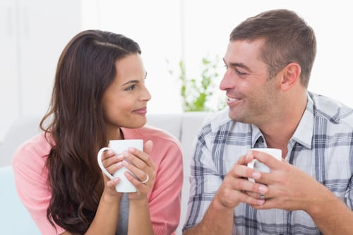 A Marriage Check In: plan a time to talk about feelings, goals, and improvements you can make in your relationship!