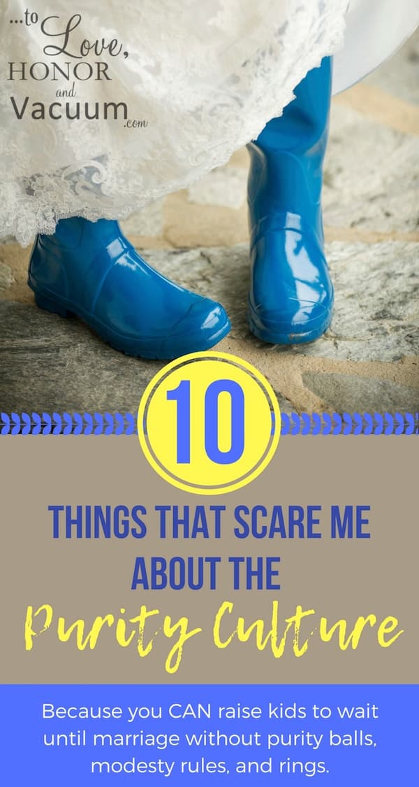 "Purity Culture Scares Me - 10 Things That Scare Me About the ""Purity"" Culture"