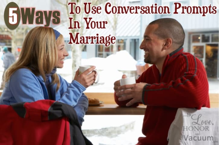 Use these 50 conversation starters in your marriage--here are 5 ways to weave them in naturally.