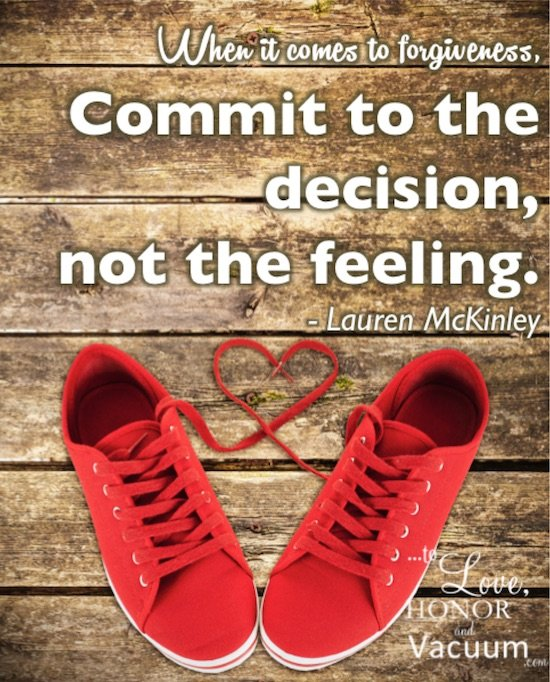 QT Commit to the Decision - When You Need to Forgive the Other Woman in Your Husband's Life