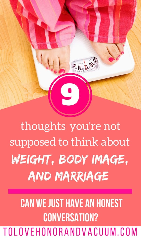 Can We Have an Honest Conversation about Weight, Body Image, and Marriage?