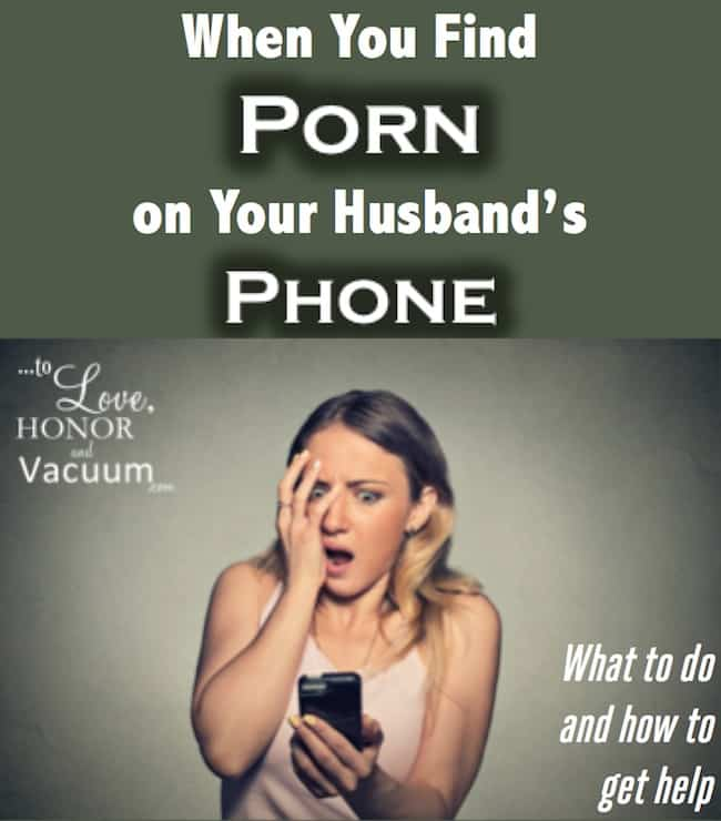 Reader Question: I Just Found Porn on My Husband's Phone. Now What?