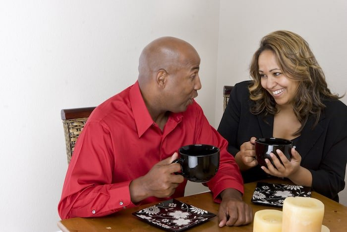 Couple Communicating - 10 Ways to Talk So Your Husband Will Hear