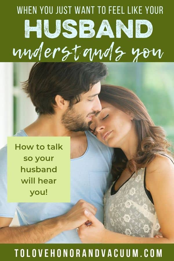 Feel like your husband doesn't understand you? Here's how to break that impasse and start to feel heard in your marriage!