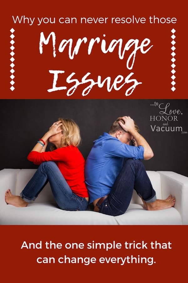 Marriage Problems: The one thing that we almost always get wrong when we're trying to resolve conflict--and the one trick that can totally change the dynamic in your marriage! #marriagetip