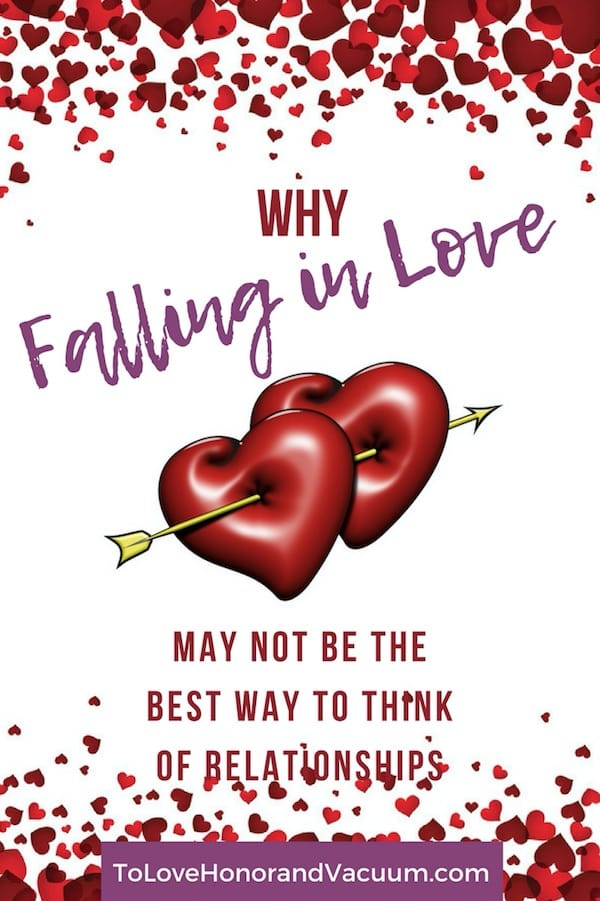 Do we see love wrong in our culture? | Some Valentine's Day thoughts on what falling in love should really look like.