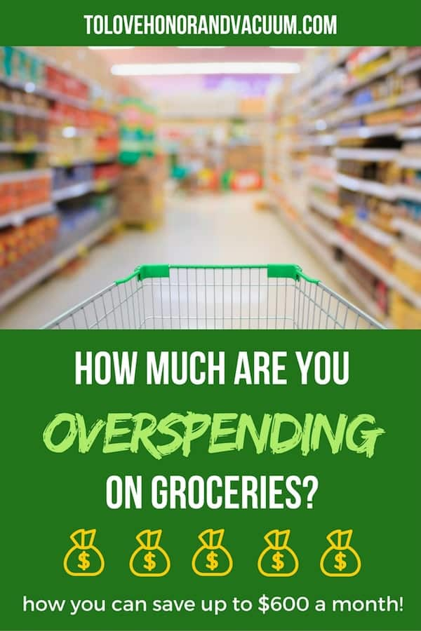Overspending on Groceries - How Much Money Are You Over-Spending on Groceries?